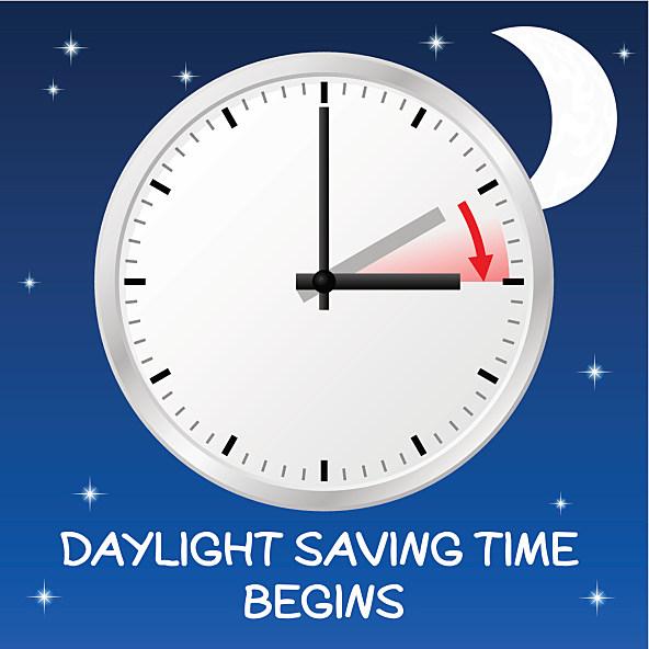 Daylight savings date