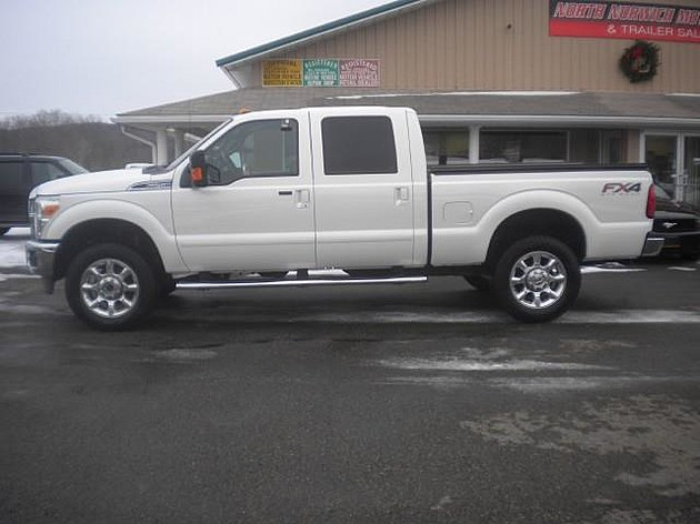 Stolen truck (Credit: Chenango County Sheriff's Office, facebook.com