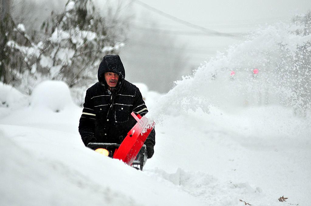 Record Snowstorm Pummels Buffalo