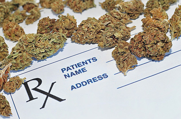 Medical marijuana buds